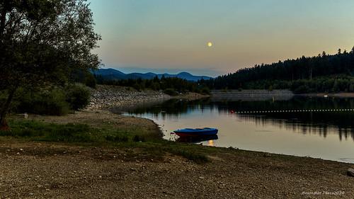 Zalazak nad Lepeničkim jezerom (2)