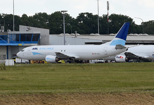 ASL Airlines Belgium Boeing 737-4M0(SF) OE-IAU
