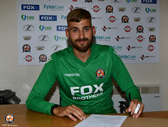 AFC Blackpool Signing Contracts 04.08.2020