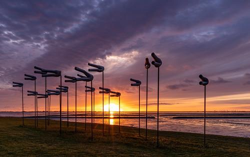 Sunset Wind pants Husum Dockkoog
