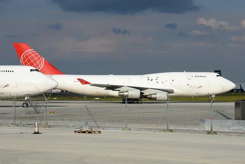 ACG Air Cargo Global Boeing 747-433(BDSF) OM-ACJ