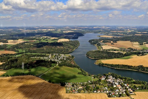 Vogtlandmeer Pöhl Talsperre
