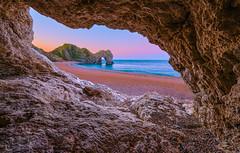 Durdle Door cave  view