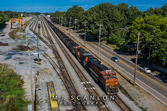 BNSF 9189 | EMD SD70ACe | NS Harris Yard