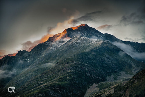 Alpin Sunset - Murkarspitze
