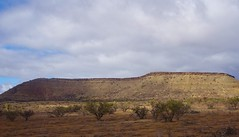 Blinman in the Flinders Ranges.  The Geat Wall of China at Blinman. A curious and impressive geological formation.