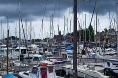 Dark sky in Brittany