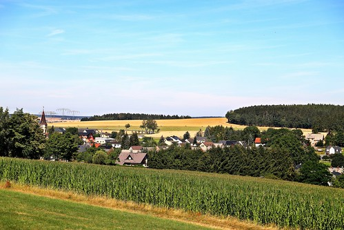 Brockau Dorf im Vogtland