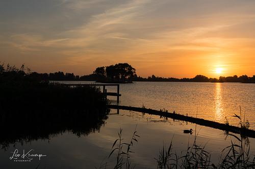 Sunrise Reeuwijkse plassen