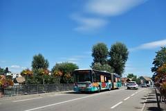 Irisbus Citelis 18 n°323  -  Strasbourg, CTS