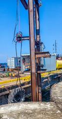 Lorain Harbor dive platform
