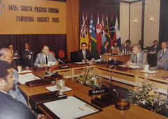 South Pacific Forum, Canberra, 1983