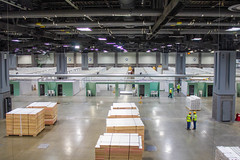 Army Corps of Engineers Builds Alternate Care Facility at the Walter E. Washington Convention Center in Washington, D.C.