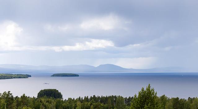 Photo:Lake skies 8/x, Tällberg, July 11, 2020 By Ulf Bodin