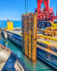 Lorain Harbor repairs