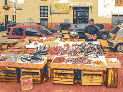 Fish Stall Puglia