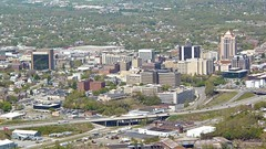 Roanoke viewed from the star, April 2006