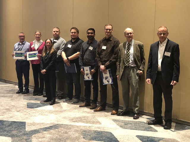 Photo:ARM Service Award Winners during 2019 ARM/ASR Joint Meeting By ARM Climate Research Facility