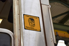 MTA Installs Social Distancing Decals to Help Protect Workforce