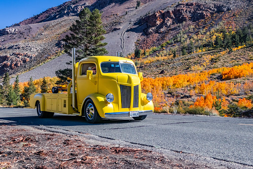 1941 GMC COE (Cab Over Engine) on The Way To South Lake Sabrina