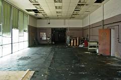 Press room at the former News Virginian building