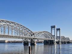 Bridge over the Neva River