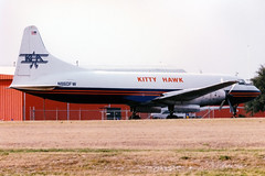Kitty Hawk Air Cargo | Convair 640 | N860FW | Fort Worth Meacham