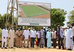 Lancement des travaux au stade MANIANG SOUMARÉ de Thiès