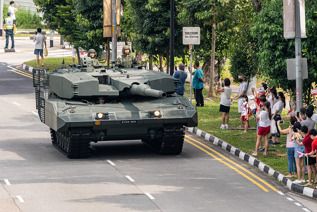 National Day 2020 - Mobile Column at Jurong East, Singapore