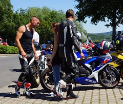 French biker from Essonne