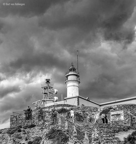 Cielo amenazador sobre Cabo de Gata