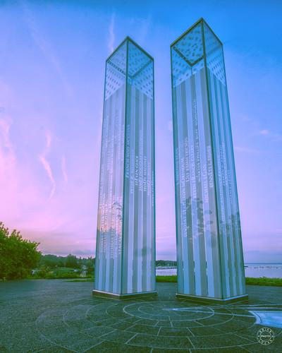 9/11 Memorial at Dawn