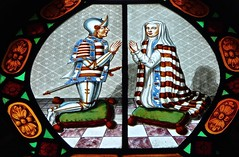 Burton Agnes - Church of St Martin - Stained Glass