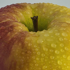 Apple With Drops