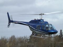 G-JROO Bell Jet Ranger 206B Helicopter (Private Owner)