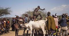 Bull Jump, Sth Ethiopia