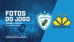 10-08-2020: Londrina x Criciúma
