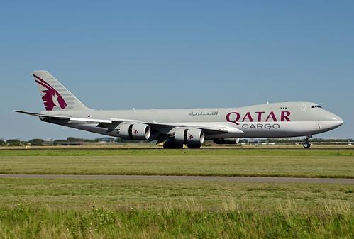 A7-BGA B747-87UF cn 37564 Qatar Airways Cargo 200805 Schiphol 1002