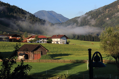 Morning at Hinterthiersee