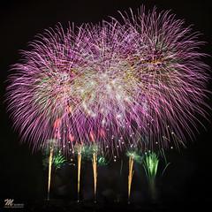 Fireworks in Hokkaido