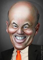 Louis DeJoy - Caricature