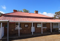 Historic Blinman. Old copper mining town of the Flinders Ranges. This stone Post Office was built in 1876 and is still in use for that purpose.