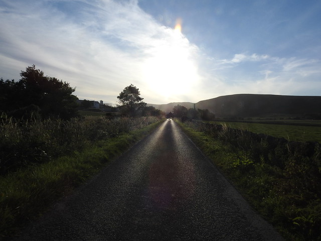 Road to Clynelish distillery