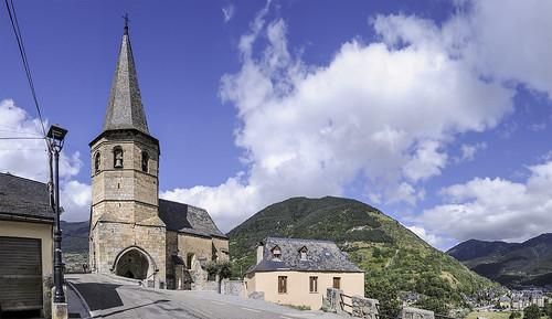 San Martín de Tours. GAUSAC. VAL d'ARAN. SPAIN.