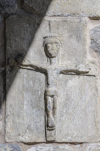 Cristo Crucificado. San Martín. GAUSAC. VAL d'ARAN. SPAIN.