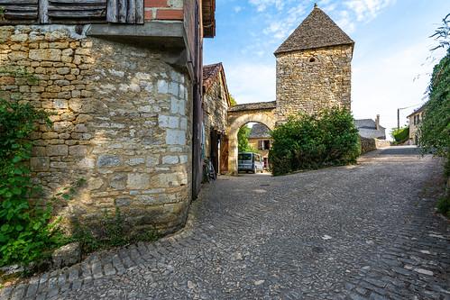 Old Hospital, St-Amand-de-Coly, Dordogne, France