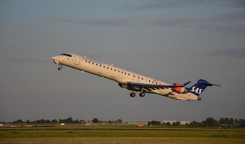 Bombardier / Mitsubishi CRJ-900LR - SAS Scandinavian Airlines (CityJet)