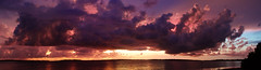Fort DeSoto Sunset 8-11-2020 Panorama