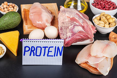 Protein inscription and products for a protein diet