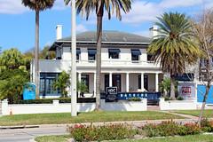 House Undergoing Restoration, Bayshore Blvd., Tampa